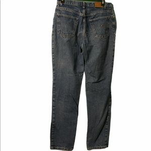 Tommy Hilfiger Blue Mom Jeans Tall Size 10